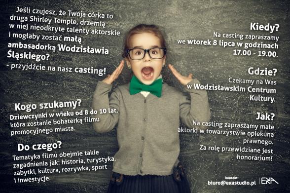 plakat_wodzislaw_casting_b