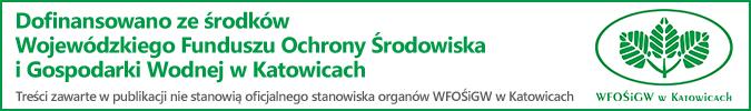 Dofinansowano ze środków Wojewódzkiego Funduszu Ochrony Środowiska i Gospodarki Wodnej w Katowicach