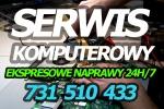 Ogłoszenia naszwodzislaw.com: Informatyk 24h/7, Serwis Komputerowy - usługi informatyczne - dojazd - ekspresowa naprawa