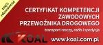 Ogłoszenia naszwodzislaw.com: Licencja transportowa kurs w Katowicach / Certyfikat kompetencji zawodowych