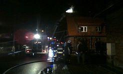 Groźny pożar w Radlinie - Serwis informacyjny z Wodzisławia Śląskiego - naszwodzislaw.com