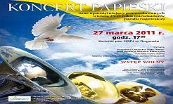 Koncert papieski - Serwis informacyjny z Wodzisławia Śląskiego - naszwodzislaw.com