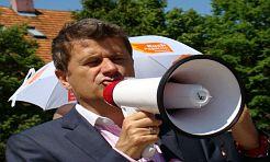 Pustki na spotkaniu z Palikotem - Serwis informacyjny z Wodzisławia Śląskiego - naszwodzislaw.com