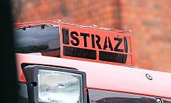 Minionej doby doszło do pożaru budynku gospodarczego w Radlinie  - Serwis informacyjny z Wodzisławia Śląskiego - naszwodzislaw.com