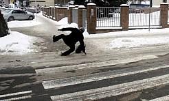 Uwaga! W nocy spadnie śnieg. Na drogach będzie ślisko - Serwis informacyjny z Wodzisławia Śląskiego - naszwodzislaw.com