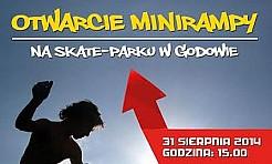 Otwarcie mini rampy w Godowie - Serwis informacyjny z Wodzisławia Śląskiego - naszwodzislaw.com