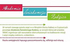 W październiku rusza Akademia Świadomego Rodzica - Serwis informacyjny z Wodzisławia Śląskiego - naszwodzislaw.com