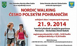 Nordic Walking czesko - polskim pograniczem - Serwis informacyjny z Wodzisławia Śląskiego - naszwodzislaw.com