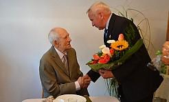 100 urodziny w dniu wczorajszym obchodził mieszkaniec Gorzyc! - Serwis informacyjny z Wodzisławia Śląskiego - naszwodzislaw.com