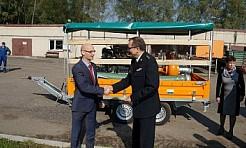Miasto przekazało pompę strażakom - Serwis informacyjny z Wodzisławia Śląskiego - naszwodzislaw.com