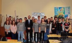 """,,Back to school"""" – spotkanie z przedstawicielem Komisji Europejskiej  - Serwis informacyjny z Wodzisławia Śląskiego - naszwodzislaw.com"""