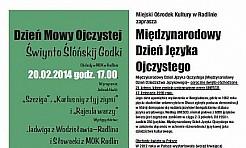 Dzień Mowy Ojczystej w Radlinie - Serwis informacyjny z Wodzisławia Śląskiego - naszwodzislaw.com