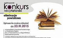 Powiatowe eliminacje do konkursu recytatorskiego  - Serwis informacyjny z Wodzisławia Śląskiego - naszwodzislaw.com