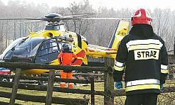 Groźny wypadek na A1: z samochodu wypadło 8-letnie dziecko. Na miejscu pojawił się helikopter LPR - Serwis informacyjny z Wodzisławia Śląskiego - naszwodzislaw.com