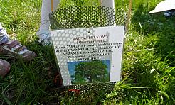 Przedszkolaki z Mszany zasadziły dąb - Serwis informacyjny z Wodzisławia Śląskiego - naszwodzislaw.com