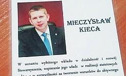 Mieczysław Kieca został studentem - Serwis informacyjny z Wodzisławia Śląskiego - naszwodzislaw.com