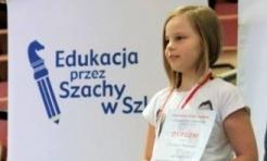 Martyna Starosta wicemistrzynią Polski w szachach błyskawicznych - Serwis informacyjny z Wodzisławia Śląskiego - naszwodzislaw.com