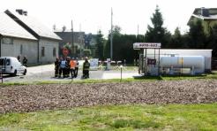 Gorzyce: Doszło do rozszczelnienia się zbiornika z gazem LPG - Serwis informacyjny z Wodzisławia Śląskiego - naszwodzislaw.com