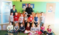 Policjanci z Wodzisławia kontynuują spotkania z przedszkolakami  - Serwis informacyjny z Wodzisławia Śląskiego - naszwodzislaw.com