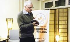 Jerzy Buczyński odwiedził wodzisławską bibliotekę  - Serwis informacyjny z Wodzisławia Śląskiego - naszwodzislaw.com