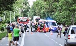 Śmiertelny wypadek na trasie Racibórz-Lubomia. Na Brzeskiej motocyklista zderzył się z samochodem rover - Serwis informacyjny z Wodzisławia Śląskiego - naszwodzislaw.com