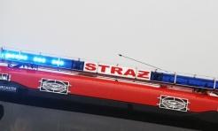 12 strażaków gasiło pożar samochodu w Czyżowicach  - Serwis informacyjny z Wodzisławia Śląskiego - naszwodzislaw.com