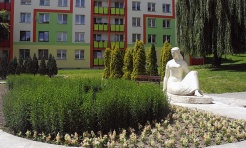 Fontanna przy pomniku siedzącej kobiety do modernizacji  - Serwis informacyjny z Wodzisławia Śląskiego - naszwodzislaw.com