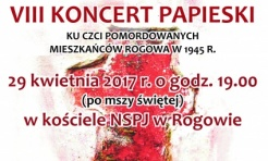 VIII Koncert Papieski w Rogowie już wkrótce - Serwis informacyjny z Wodzisławia Śląskiego - naszwodzislaw.com