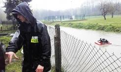 Liczne interwencje strażaków. Więcej wody w rzekach - Serwis informacyjny z Wodzisławia Śląskiego - naszwodzislaw.com