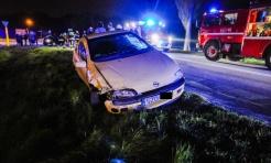 Nissan z powiatu wodzisławskiego zderzył się z oplem tigrą w Rzuchowie - Serwis informacyjny z Wodzisławia Śląskiego - naszwodzislaw.com