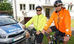 Wodzisławscy policjanci dołączą do sztafety rowerowej i pomogą Wiktorii - Serwis informacyjny z Wodzisławia Śląskiego - naszwodzislaw.com
