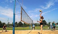 Turniej siatkówki plażowej z Gminnym Ośrodkiem Sportu w Mszanie - Serwis informacyjny z Wodzisławia Śląskiego - naszwodzislaw.com