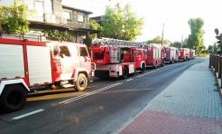 W Radlinie palił się sklep. 19 strażaków pognało na Rogozina  - Serwis informacyjny z Wodzisławia Śląskiego - naszwodzislaw.com