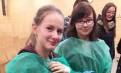 Uczniowie Tischnera zostali chirurgami  - Serwis informacyjny z Wodzisławia Śląskiego - naszwodzislaw.com