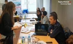 Zachęcali do pracy w policji - Serwis informacyjny z Wodzisławia Śląskiego - naszwodzislaw.com