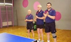 II seria spotkań I Śląskiej Ligi Amatorów w tenisie stołowym rozpoczęta - Serwis informacyjny z Wodzisławia Śląskiego - naszwodzislaw.com