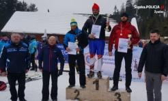 Szef wodzisławskich policjantów z drugim miejscem na mistrzostwach w narciarstwie alpejskim  - Serwis informacyjny z Wodzisławia Śląskiego - naszwodzislaw.com