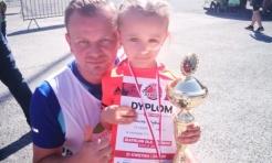 Biathlon dla każdego: 6-letnia Antonina Kubica tryumfuje we wszystkich startach  - Serwis informacyjny z Wodzisławia Śląskiego - naszwodzislaw.com