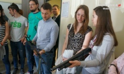 Studenci z Ostrawy z wizytą w wodzisławskiej komendzie - Serwis informacyjny z Wodzisławia Śląskiego - naszwodzislaw.com
