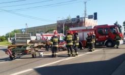 16-latek w szpitalu. Doszło do zderzenia samochodu dostawczego i motorowerzysty  - Serwis informacyjny z Wodzisławia Śląskiego - naszwodzislaw.com