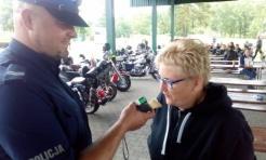 Policjanci i motocykliści na rzecz bezpieczeństwa - Serwis informacyjny z Wodzisławia Śląskiego - naszwodzislaw.com