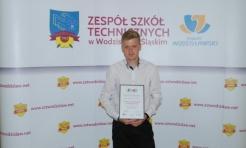 Pokonał kilkuset uczestników. Ogromny sukces ucznia Budowlanki  - Serwis informacyjny z Wodzisławia Śląskiego - naszwodzislaw.com