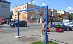 W centrum Radlina pojawiła się bramka zraszająca - Serwis informacyjny z Wodzisławia Śląskiego - naszwodzislaw.com