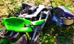 Motocyklista w ciężkim stanie. Kierująca osobówką wymusiła pierwszeństwo - Serwis informacyjny z Wodzisławia Śląskiego - naszwodzislaw.com