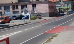 Na ulicy 26 Marca w Wodzisławiu powstała nowa ścieżka rowerowa - Serwis informacyjny z Wodzisławia Śląskiego - naszwodzislaw.com