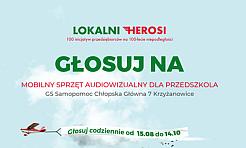 Przedszkole Publiczne numer 1 w Radlinie walczy w konkursie Lokalni Herosi - Serwis informacyjny z Wodzisławia Śląskiego - naszwodzislaw.com