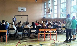Wójt gminy Mszana spotkał się z rodzicami uczniów Szkoły Podstawowej - Serwis informacyjny z Wodzisławia Śląskiego - naszwodzislaw.com