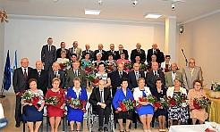 Złote i Diamentowe Gody w Gminie Mszana - Serwis informacyjny z Wodzisławia Śląskiego - naszwodzislaw.com