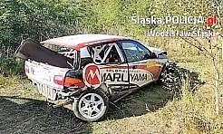 Wypadek podczas rajdowego Pucharu Śląska - Serwis informacyjny z Wodzisławia Śląskiego - naszwodzislaw.com