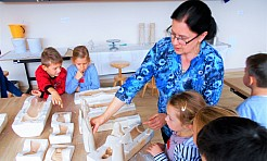 Dzieci z Przedszkola numer 18 odwiedziły Wodzisławskie Oświatowe Centrum Nauki i Techniki - Serwis informacyjny z Wodzisławia Śląskiego - naszwodzislaw.com